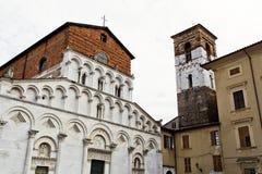 Lucca Church of Santa Maria Forisportam Stock Images