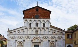 Lucca Church of Santa Maria Forisportam Royalty Free Stock Images