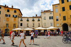 Lucca city Stock Images