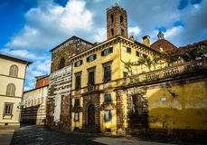 Lucca - classic Italian town Royalty Free Stock Images