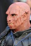 Lucca Comics and Games 2014 ogre mask Stock Photos