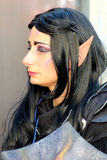 Lucca Comics and Games personage Elf saga of the Lord of the Rings Stock Images