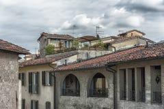 Lucca dach w różnym stylu w Włochy Zdjęcie Royalty Free