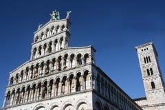 Lucca Duomo arkivfoto
