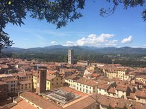 Lucca historic city Stock Images