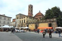 Lucca histórico Foto de Stock Royalty Free