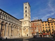 Lucca, Italie Photographie stock libre de droits