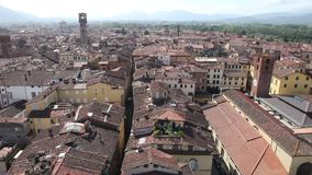 Lucca, Italy stock video footage