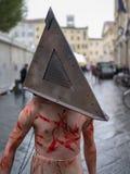 Lucca komikerfestival 2012, Tuscany, Italien Fotografering för Bildbyråer
