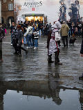 Lucca komikerfestival 2012, Tuscany, Italien Arkivfoto