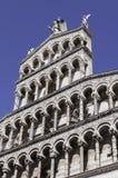 Lucca kupol Arkivfoto