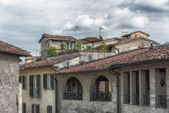 Lucca roof in different style in Italy. Lucca roof in different style in Tuscany, Italy Royalty Free Stock Photo