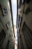 Lucca's alley royalty free stock photography