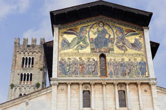 Lucca, San Frediano church Stock Image