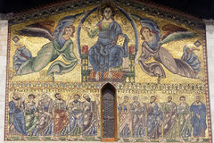 Lucca, San Frediano church: mosaic Stock Photography
