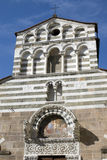Lucca - San Giusto church facade Stock Photo