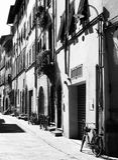 Lucca - Straße Lizenzfreies Stockfoto
