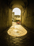 Lucca street Royalty Free Stock Images