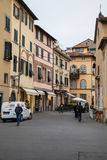 Lucca street view Royalty Free Stock Photos
