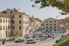 Lucca streets, Tuscany, Italy. Royalty Free Stock Image