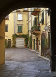 Lucca town detail Royalty Free Stock Photography