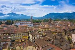 Lucca_Tuscany,意大利 图库摄影
