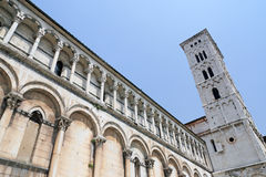 Lucca - Tuscany. Lucca in the center of Italy (Tuscany Royalty Free Stock Photo