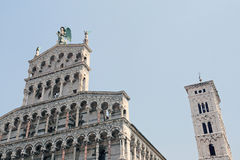 Lucca - Tuscany. Lucca in the center of Italy (Tuscany Royalty Free Stock Photography