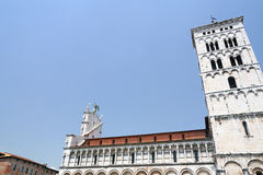 Lucca - Tuscany. Lucca in the center of Italy (Tuscany Royalty Free Stock Images