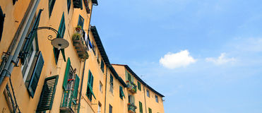 Lucca - Tuscany. Center of Italy Stock Photo