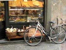 Lucca Tuscany Via Filungo royalty free stock photo