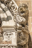 Lucca (Tuscany) - Detail of San Giusto church Royalty Free Stock Photos