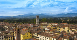 Lucca_Tuscany, Italie Photographie stock libre de droits
