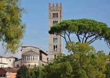 Lucca Tuscany, Italien Royaltyfri Foto