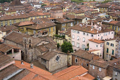 Lucca in Tuscany, Italy Stock Image