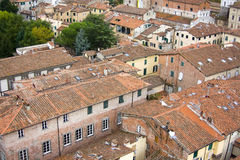 Lucca in Tuscany, Italy Stock Photography