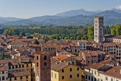 Lucca, Tuscany, Italy royalty free stock photography