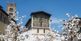 Lucca (Tuscany, Italy) royalty free stock photography