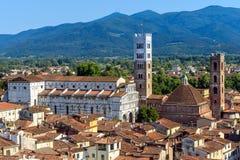 Lucca, tuscany, italy stock photo