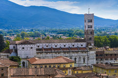 Lucca_Tuscany, Italy Stock Photography