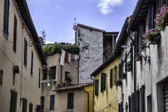 Lucca, Tuscany, Italy. Streets Stock Photo