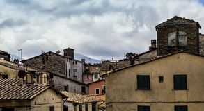 Lucca, Tuscany, Italy. Streets Stock Image