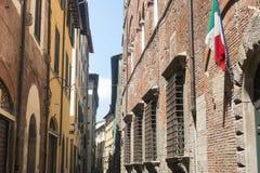 Lucca Tuscany, Włochy (,) Obrazy Royalty Free