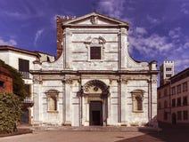 Lucca_Tuscany, Włochy Zdjęcia Royalty Free