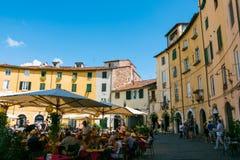 Lucca, Tuskany Royalty Free Stock Photos
