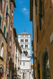 Lucca, Tuskany Stock Images