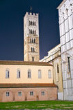 Lucca - view of St Martin's Cathedral. Stock Photos