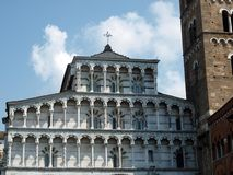 Lucca - view of St Martin's Cathedral Royalty Free Stock Photo