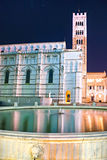 Lucca - view of St Martin's Cathedral. Stock Images