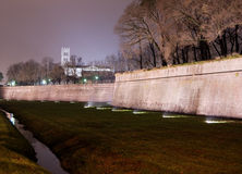 Lucca The Walls. The last of the three boundary walls Royalty Free Stock Images